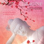 Imagine 2020 12 x 12 Inch Monthly Square Wall Calendar by Brush Dance, Cynthia Louden Motivation Inspiration