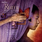 Poetry of Rumi 2020 12 x 12 Inch Monthly Square Wall Calendar by Brush Dance, Art Poems Poet