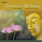 Timeless Buddha 2020 12 x 12 Inch Monthly Square Wall Calendar by Brush Dance, Inspiration Thailand Peace