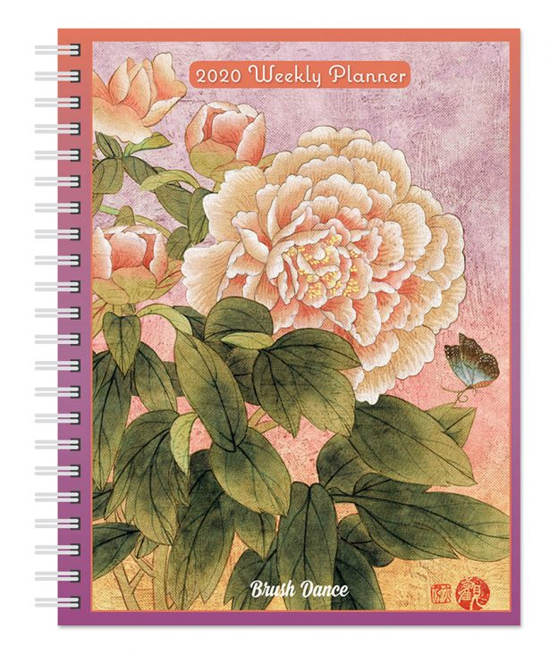 Thich Nhat Hanh 2020 6 x 7.75 Inch Weekly Desk Planner by Brush Dance, Zen Peace Spiritual Leader